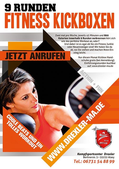 9 Runden Fitness Kickboxen